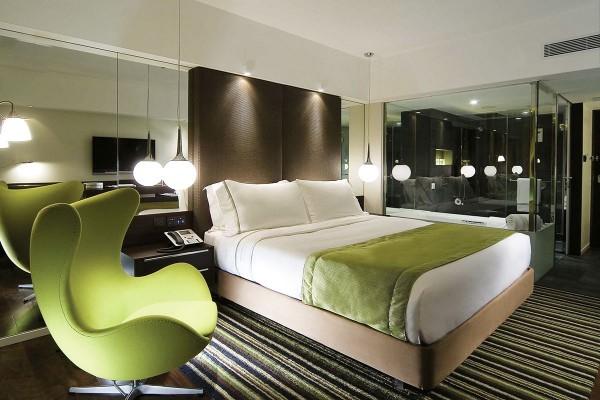 Trend Home Interior Design 2011 Hotel Bedroom Style