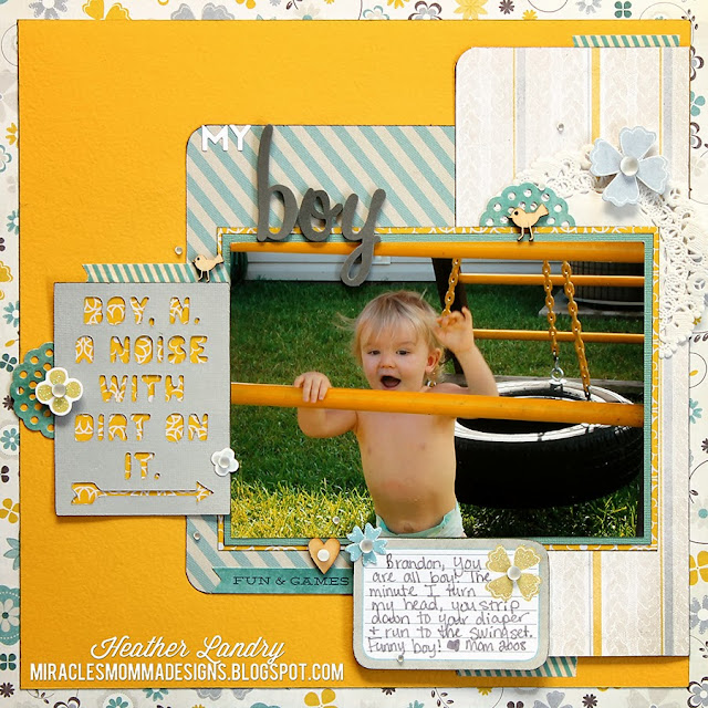 Little Boy_Die Cut Card_Freebie