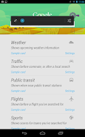 nexus google now screen