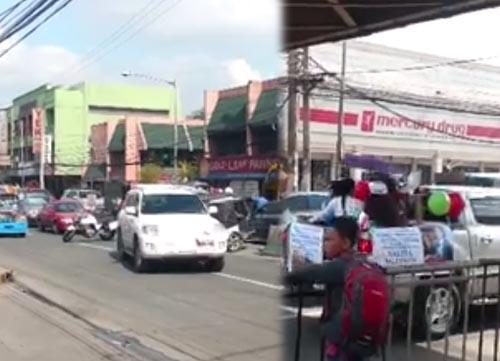 INC convoy in Cainta