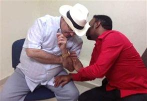 Anthony Santos está preso por venganza política, según Hipólito Mejía