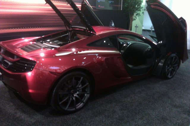 McLaren MP12C at San Francisco Auto Show