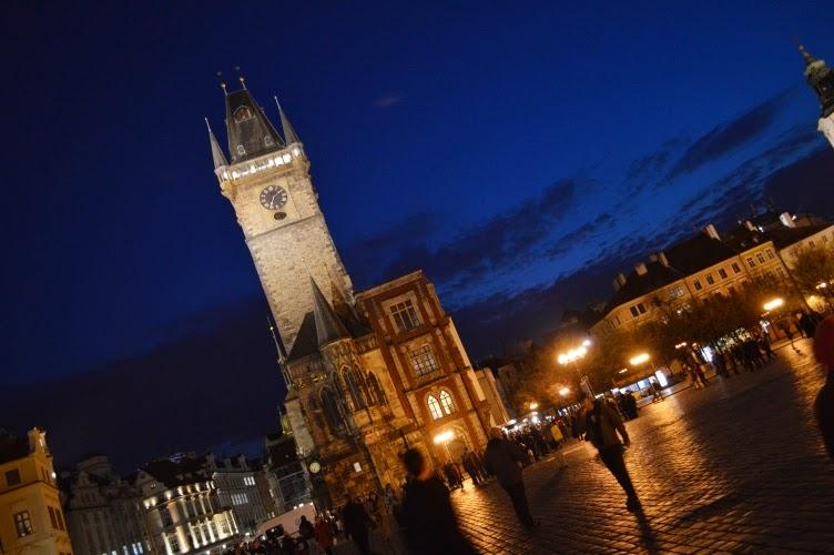 Prague, staroměstské náměstí, orloj, horloge, clock astronomical