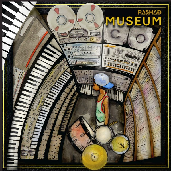 Rashad - Museum (Deluxe Version) Cover