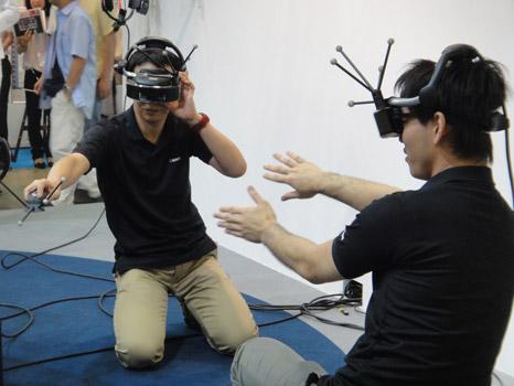 Menggabungkan Dunia Nyata Dan Dunia Virtual Dengan Canon Mixed Reality System