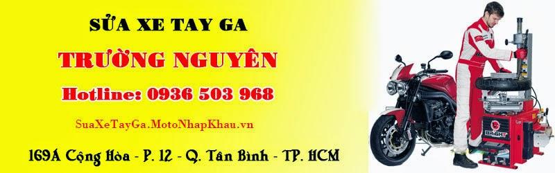 Sửa Xe Tay Ga Chuyên Nghiệp TPHCM