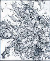 The Four Horsemen of Apocalypse Drawings