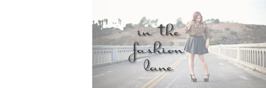 in the fashion lane