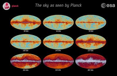Resultado de imagen de La señal CMB es la imagen más precisa de la distribución de masa en el Universo primitivo