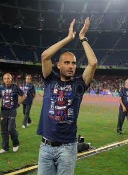 adiós de Pep Guardiola del Barça