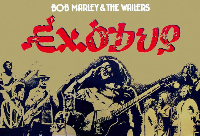 Le Deblocnot Bob Marley The Wailers Exodus 1977 Par