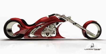 Konsep motor futuristik