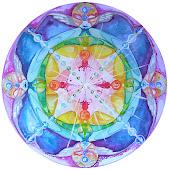 Mandala: Los cuatro Guardianes