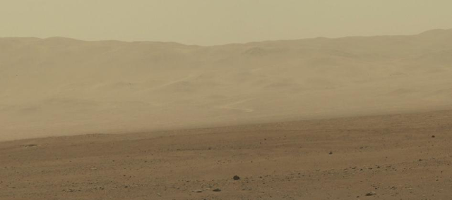 Mars Surface from Curiosity