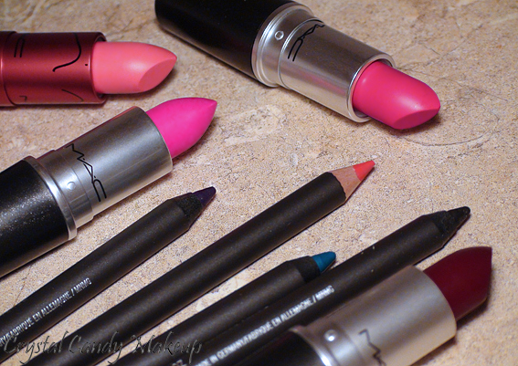 Collections Strength et Après Chic - MAC - Candy Yum Yum, Nicki, Party Parrot, Absolute Power, Lasting Sensation, Mountain Air, Snow Wonder, Rich Experience
