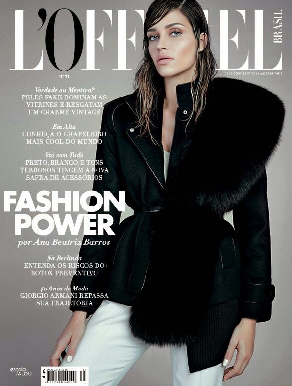 Actress, Supermodel @ Ana Beatriz Barros by Nicole Heiniger for L'Officiel Brazil, May 2015
