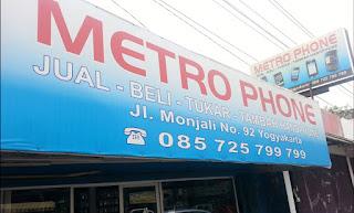 metro phone jogja