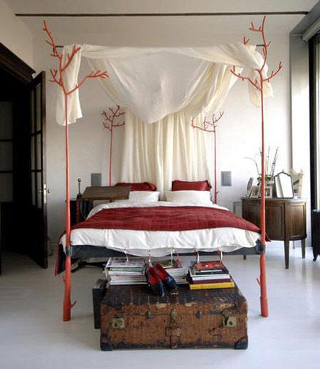 Camas con dosel y mosquiteras decorar tu casa es - Mosquiteras para cama ...