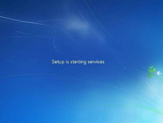 setup starting windows 7