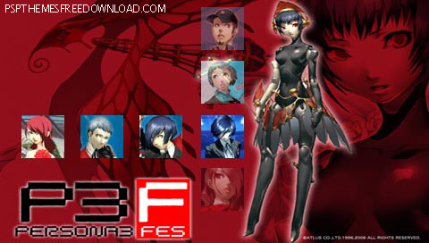 Persona 3 Theme For Psp Persona 3 Portable Theme 2
