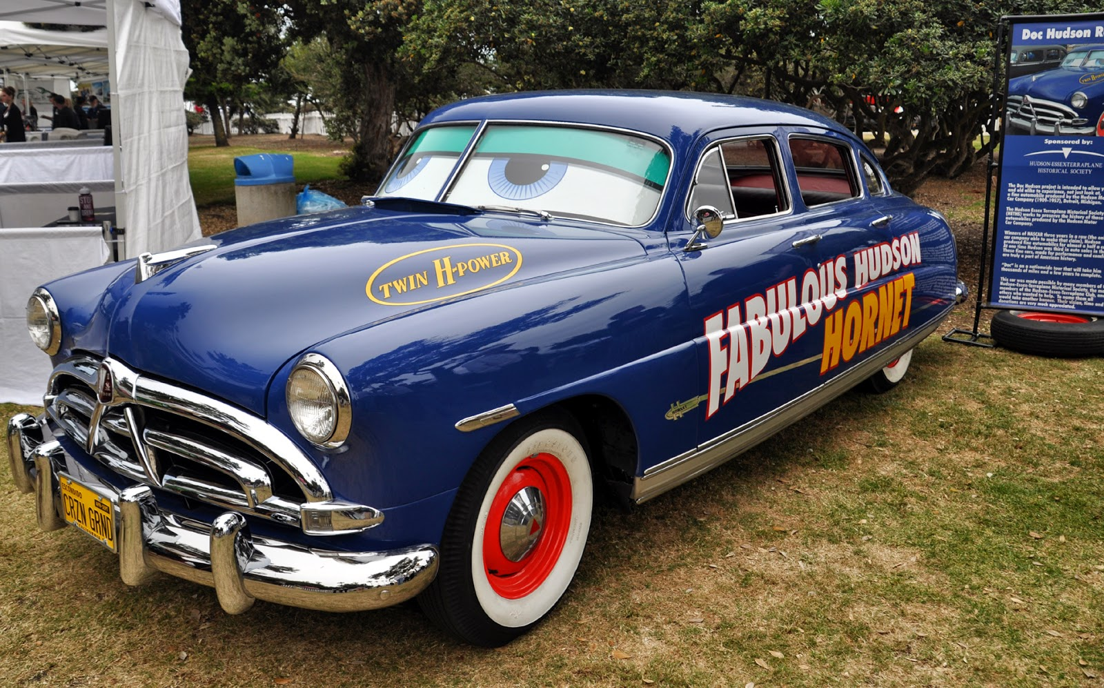 just a car guy it 39 s not surprising to see a doc hudson. Black Bedroom Furniture Sets. Home Design Ideas