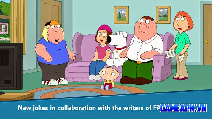 Family Guy The Quest for Stuff v1.0.14 APK Mod cho Android