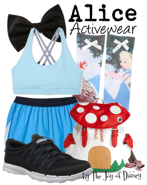Alice in Wonderland Outfit, Workout Fashion