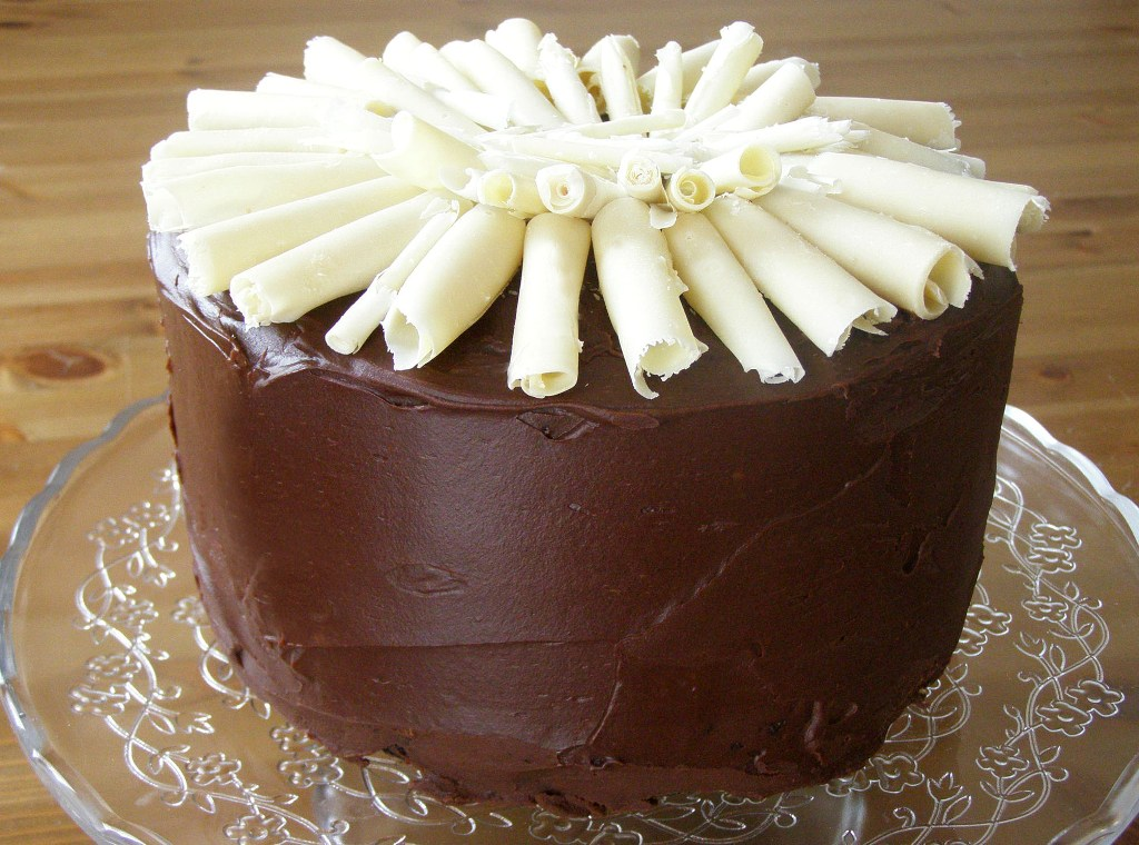 maple•spice: Double Chocolate Mousse Layer Cake