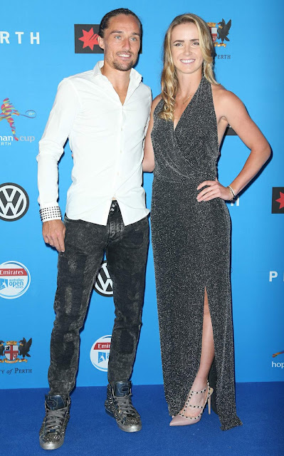 Tennis Player, @ Elina Svitolina Hopman Cup Players Party at Crown Perth