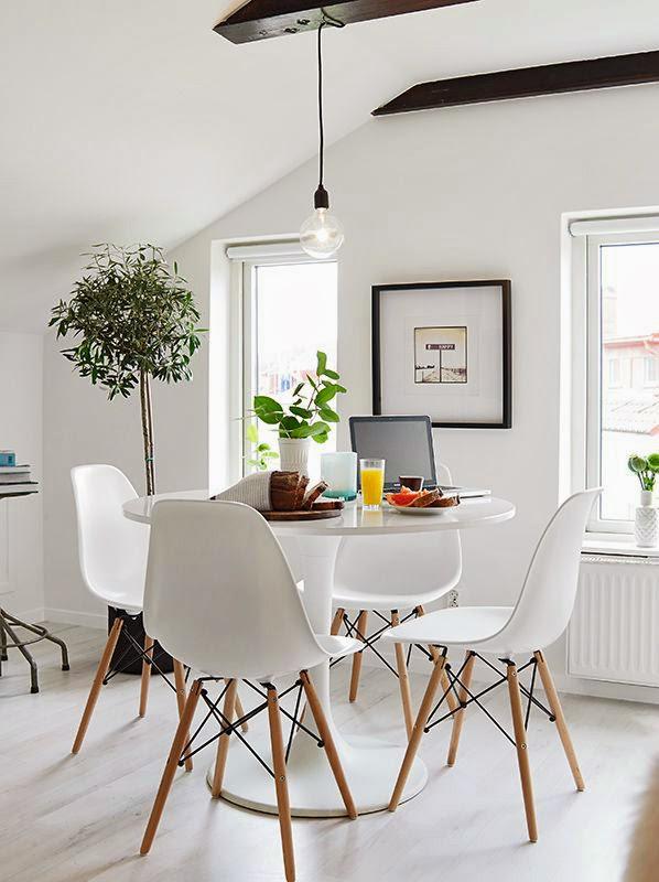 Pencahayaan alami ruang makan
