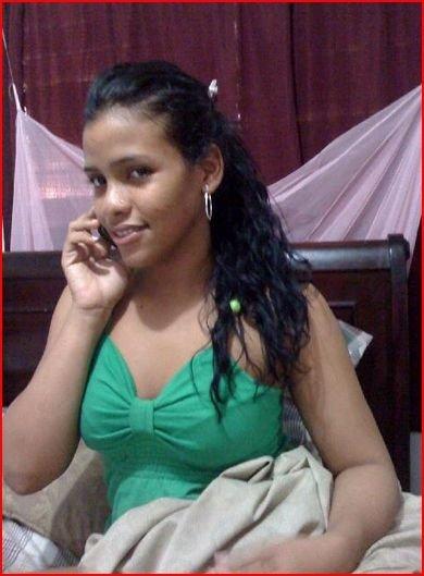 Contacts brunette teen sasha