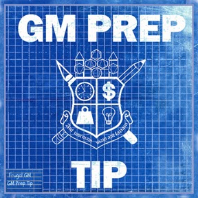 GM Prep Tip: S2 Adventure Planning