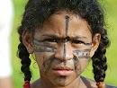 Menina indígina, Altamira 2005.