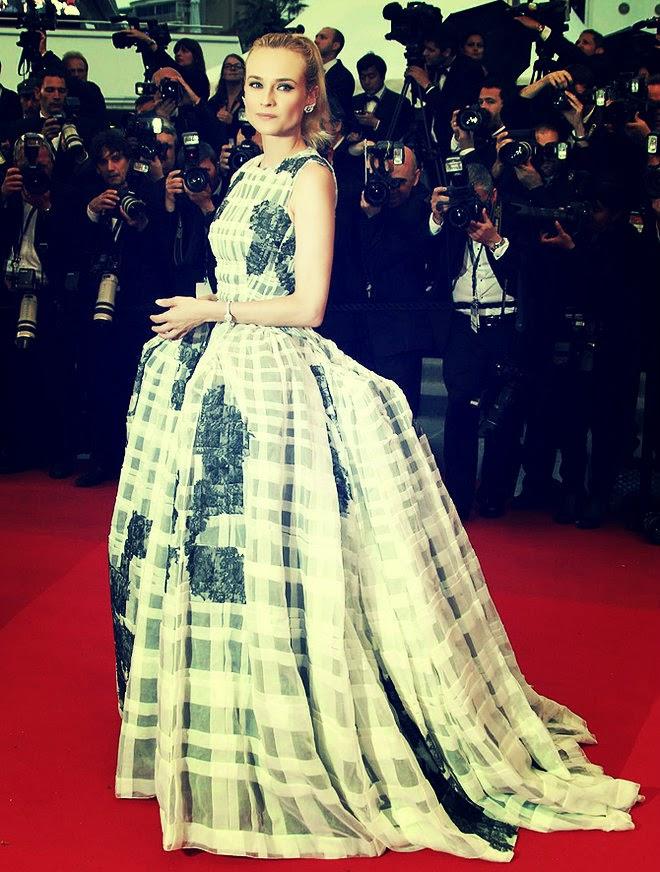 Diane Kruger in Dior Gown