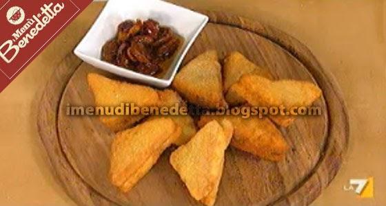 Mozzarelle in carrozza la ricetta di benedetta parodi for Mozzarella in carrozza parodi