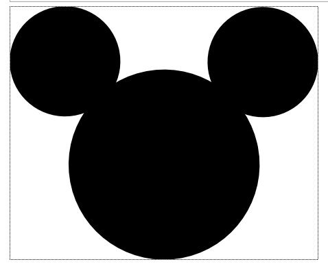 Mickey Mouse Head Template Printable Free
