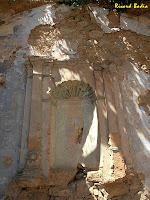 Detall de la fornícula de la paret del presbiteri. Autor: Ricard Badia