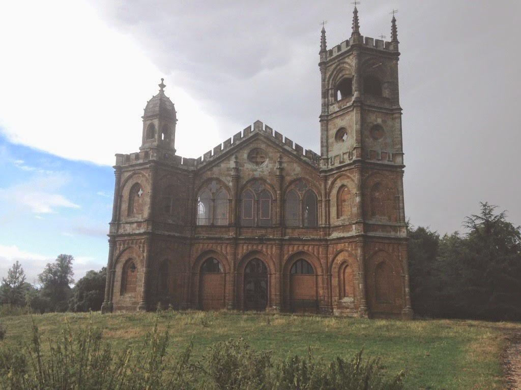 Stowe gothic temple