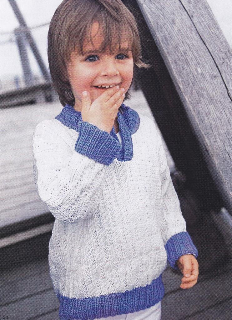Вязание есть также в разделах: схема вязания детской жилетки спицами.