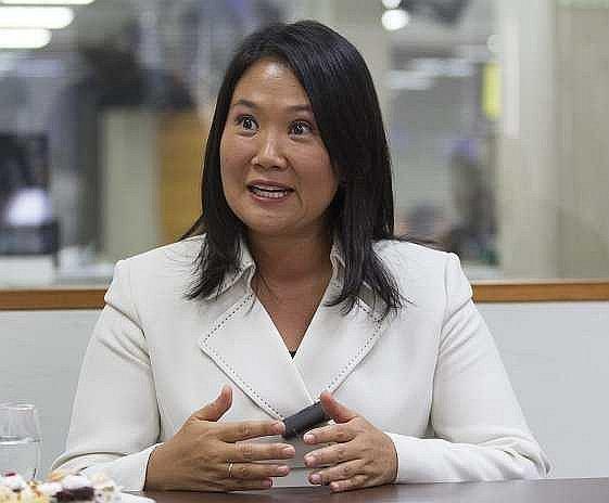 Evangelistas esperan que Keiko Fujimori cumpla su compromiso Lideresa de Fuerza Popular se mostró e