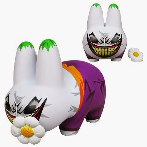 The Joker Labbit Vinyl Figures by Kidrobot x DC Comics