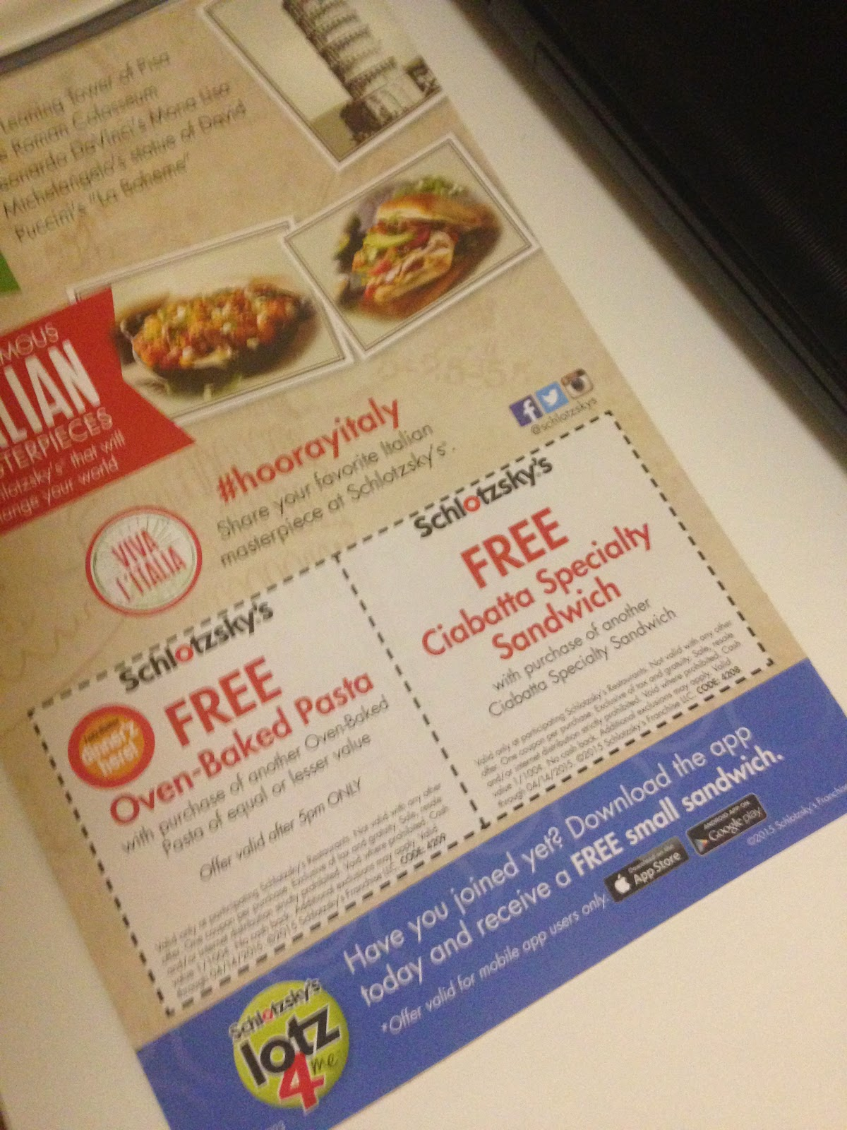 photograph about Schlotzsky's Printable Menu called Janie Female: Schlotzskys: Discount codes, Application and Totally free Sandwich!