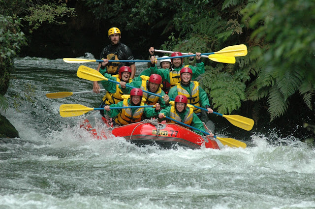 water rafting in new zealand