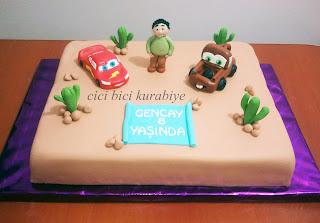 arabalar pastası