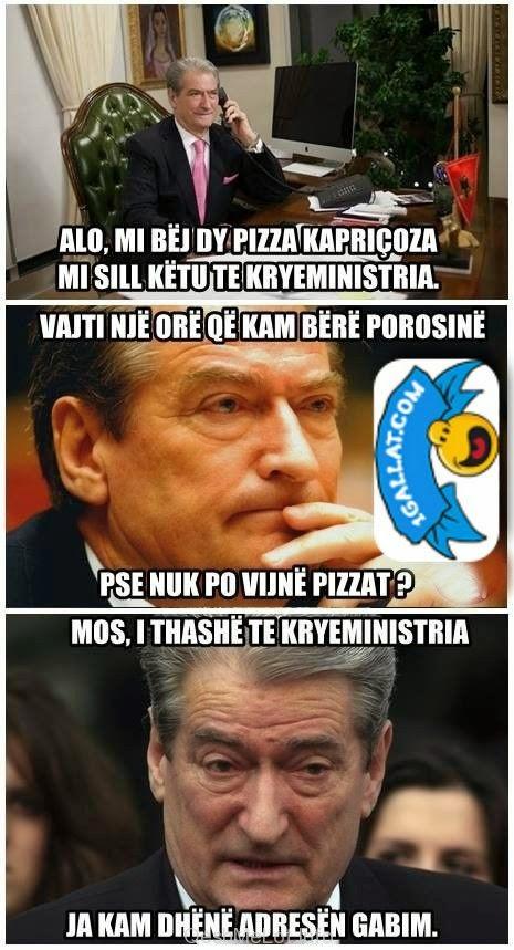 POLITIKE : Kur Saliu Porosit Pizza