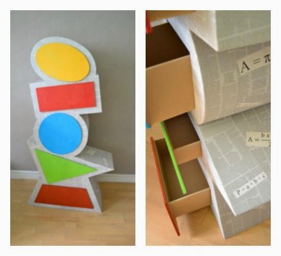 paris l 39 ouest comment fabriquer des meubles en carton. Black Bedroom Furniture Sets. Home Design Ideas