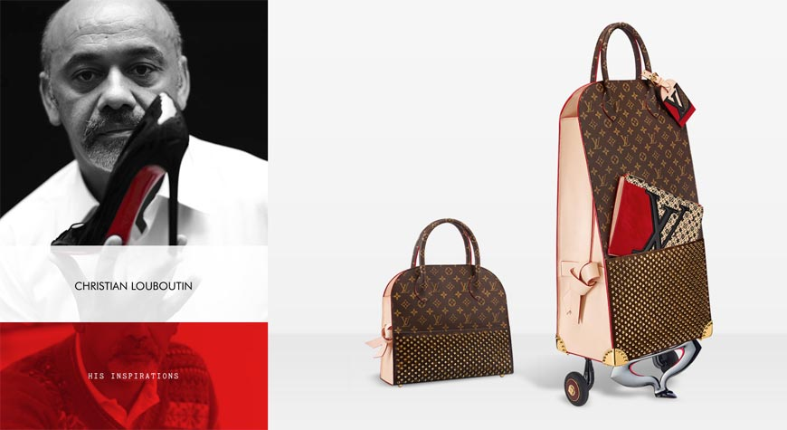 Sac Louis Vuitton Louboutin