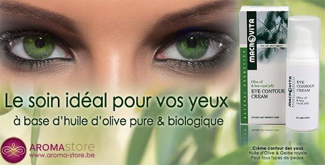 eye contour cream organic macrovita