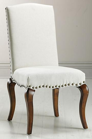 copy cat chic pottery barn calais chair. Black Bedroom Furniture Sets. Home Design Ideas