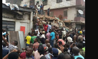 7 People Rescued From Collapsed Lagos Building